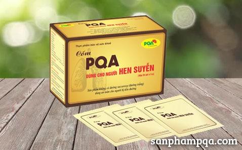Sản phẩm Cốm PQA dùng cho người hen suyễn